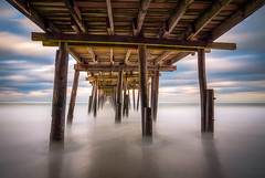 Outer Banks NC Seascape Nags Head North Carolina OBX (Dave Allen Photography) Tags: outerbanks beach nc obx nagshead northcarolina seascape landscape coastal pier fishingpier longexposure le killdevilhills sea coast ocean atlantic atlanticocean outdoors