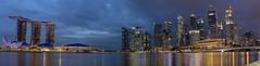 Marina Bay Panorama, Singapore (rvk82) Tags: 2017 december december2017 longexposurephotography marinabay nikon nikond850 rvk rvkphotography raghukumar raghukumarphotography singapore wideangle wideangleimages rvkonlinecom rvkphotographycom sg