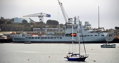 Ships of Falmouth Bay - RFA Tiderace A137 (sab89) Tags: ships falmouth bay rfa tiderace a137