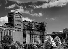 CANADA, Montreal Scenes 2016 (38) (Padski1945) Tags: montreal canada canada2016 buildings buildingsfromoverseas architecture architecturefromoverseas delapidation urbandecay montrealquebec
