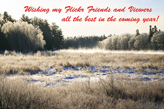 Christmas Greetings (Boganeer) Tags: intervale frost fog mist winter snow miramichi sundaylights christmas