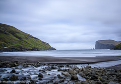 Faroe Islands, Twin Rocks, (Khun Hans Outdoor Photography) Tags: rocks sea northatlanticocean mountainphotos long exposore lee filter sky faroe islands coppercloudsilvernsun abigfave