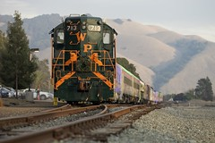 Train of lights (gsmper) Tags: train railway niles canyon transportation lights california sony sigma mc11