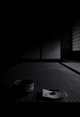 抹茶 (小川 Ogawasan) Tags: japan japon kyoto tea matcha temple tatami bw wagashi