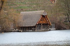 Bootshaus am Max-Eyed See (reipa59) Tags: landschaft landscape ufer see bootshaus maxeythsee stuttgart badenwürttemberg