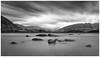 Calm drama (Pepyn Thysse) Tags: longexposure wanaka newzealand otago fuji blackandwhite monochrome fineart