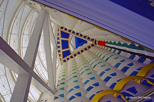 Burj Al Arab, interno