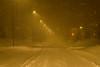 Driving (joningic) Tags: akureyri december urbannature winter snow road austursíða evening snowstorm light bugðusíða