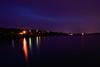 Purple Night (phagileo) Tags: nikond3300 nature sunset dusk sky longexposure purple lake cityscape water