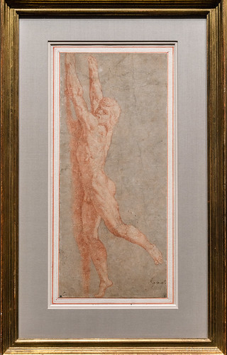 Raffael: Aktstudie für den Borgobrand / Nude Study for the Fire in the Borgo, 1514