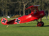 Private   Fokker DR.1 Replica   G-DREI (FlyingAnts) Tags: private fokker dr1 replica gdrei fokkerdr1replica redbaron red baron felthorpe felthorpeairfield canon canon7d canon7dmkii