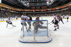 """Kansas City Mavericks vs. Kalamazoo Wings, January 5, 2018, Silverstein Eye Centers Arena, Independence, Missouri.  Photo: © John Howe / Howe Creative Photography, all rights reserved 2018. • <a style=""""font-size:0.8em;"""" href=""""http://www.flickr.com/photos/134016632@N02/38869572024/"""" target=""""_blank"""">View on Flickr</a>"""