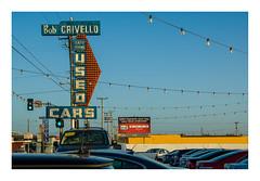 used cars, Eureka (philippe*) Tags: eureka cars used california sign urban americana