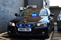SM09 YRL (S11 AUN) Tags: durham constabulary bmw 330d 3series saloon anpr police traffic car roads policing rpu sm09yrl nk09fke