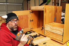 Day 3265 - Day 343 (rhome_music) Tags: drill wood woodprojects toolcabinet recreation 365days 365days2017 365more daysin2017 photosin2017 365alumni year9 365daysyear9 dailyphoto photojournal dayinthelife 2017inphotos apicaday 2017yip photography canon canonphotography eos 7d