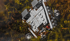 Relic of A Forgotten Age (Lego_LUTs) Tags: red green takodana yellow purple blue storm trooper star wars war lego outdoors clone troopers first order blasters afol minifigs minifigures bricks blocks canon toy toys force legos t3i republic people photoadd atst death rogue one dirt practical effects orange 60mm darth maul battlefront tree 7th sky corps snow road