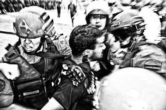 (Santiago Sito) Tags: street protest demonstration gendarme gendarmeria social accion action movimiento motion