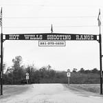 Hot Wells Shooting Range, Cypress, TX 1712141225bw thumbnail
