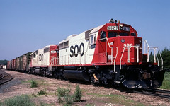 The Last Domestic SD40-2 (ac1756) Tags: sooline soo emd sd402 6623 910 troutlake michigan