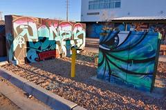 Railyard Arts District (jpellgen (@1179_jp)) Tags: santafe newmexico southwest usa america travel nikon d7200 december winter 2017 nm sf railyard train rail sigma 1770mm graffiti art artsdistrict gallery museum railyardartsdistrict santaferailyard