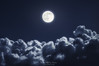 Luna llena (Mimadeo) Tags: full moon fullmoon night cloudscape sky moonlight nature dark light space background bright black blue cloud midnight atmosphere overcast beautiful dusk shine clouds glowing twilight