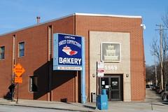 Chicago Sweet Connection Bakery (Cragin Spring) Tags: city chicago chicagoillinois chicagoil illinois il unitedstates usa unitedstatesofamerica urban midwest chicagosweetconnection bakery building store sign norwoodpark