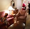 That's Santa ! (JFGryphon) Tags: santa caroline mysteryofsanta excitementofsanta seeingisbelieving thatssanta santaclaus fatherchristmas visiting saintnick saintnicholas