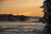 Ove_Rehn-8537.jpg (OveRehn) Tags: platser vindelälven vindeln renforsen tidpunkt älv solnedgång kyrka vatten dimma vinter kallt