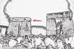 Solstice (Le monde d'aujourd'hui) Tags: winter wintersolstice december 2017 stonehenge stonecircles standingstones henge stones ancient sketch wiltshire
