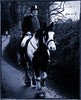 Heavy Load. (Neil. Moralee) Tags: neilmoralee man horse rider hunt hunting hemyock devon uk fat old mature cold damp black white toned monochrome bw bandw blackandwhite neil moralee nikon d7200 pony dappled road village hat coat breeches jodpers heavy overweight obese people outdoor country countryside track treck trecking boxing day 2017