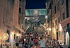Jesuit Stairs - Dubrovnik (pisanim1) Tags: dubrovnik old town croatia mare sea game thrones night light crowd architecture