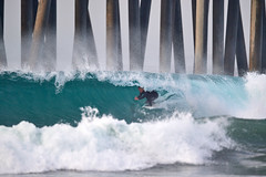Huntington Beach Pier (James Araluce) Tags: surfing surfer surfcityusa surf swell orangecounty wave waves water barrel nikon nikkor nikkor600mmf4efledvr nikond5