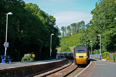 43285 43378 1V54 (Northern156) Tags: arriva crosscountry class 43 hst highspeedtrain 43285 43378 1v54 dundee newquay bodminparkway cornwall
