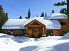 Log Cabin in the Woods (Colorado Sands) Tags: snow winter colorado sandraleidholdt usa home architecture breckenridge loghouse house residence