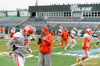2018 Sugar Bowl - Practice #1 Photos