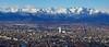 Torino racchiusa dalle Alpi (Denis Brignone) Tags: skyline torino po alpi panorama fiume