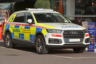 An Garda Siochana Irish Police Force 2016 Audi Q7 ARV
