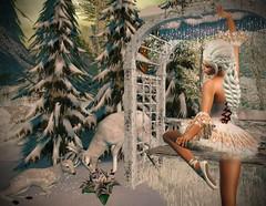 I'm Your Present, You're My Fairy (lauragenia.viper) Tags: amarabeauty bento catwa catya cjcreations escalated eternaldream genre groupgift lumipro maitreya secondlife secondlifefashion welovetoblog whymsicalmarketplace wltb winter sugarplumfairy fairy tutu ballet dancer avatar virtual free gift freebie braid outdoor woodland deer dance female woman girl fantasy secondlifeblogger secondlifemodel sale discount