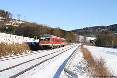 Frohes Neues! (MaxSt.) Tags: db regio regionalbahn rb baureihe br 628 6282 olsberg bestwig marburg schnee sauerland sauerlandnetz zug eisenbahn