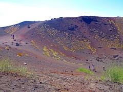 "ETNA - Sicilia - "" EXPLORE "" (cannuccia) Tags: paesaggi landscape sicilia etna vulcani montagne terra natura nature people"