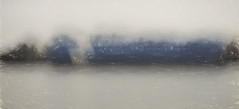 River Barge in the Fog (beelzebub2011) Tags: canada britishcolumbia vancouver fog fraserriver barge icm intentionalcameramovement