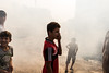 In the smoke of the tanks (rvjak) Tags: irak iraq fazilia middleeast moyenorient kurdistan war liberation d750 nikon kids enfants boys smoke fumée guerre daesh kurd