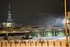 blistering wind bomb cyclone snowstorm with view of New York (PhotographerRob) Tags: bombcyclone newyork blizzard manhattan snowstorm dark skyscrapers wtc skyline worldtrade streetlights