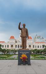 Ho Chi Minh symbol Saigon