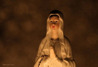 Maria by candlelight