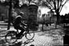 Sunny Day-BP81817bw (Rob Blok / BLOK PHOTO) Tags: street bikes amsterdam nikon fx 24mm blackandwhite blokphoto robblok foto robblokfotografie