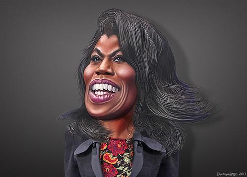Omarosa Manigault - Caricature