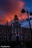 Puerta del sol (silvia_photog) Tags: madrid spain travel christmas navidad building sky