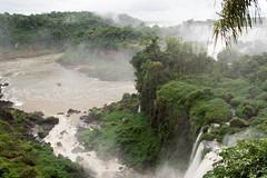 Iguazu Falls - Argentina - 01 (Andre Lourenco) Tags: sony sonyalpha alpha 68 a68 ilca68 nature natureza argentina iguacu iguassu iguazu puertoiguazu green verde falls cataratas water agua brazil
