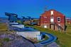 Fort Clinch, Fort Clinch State Park, Amelia island, Nassau County, Florida, USA / Built: 1847-1869 / Architectural Style: Brick Masonry (Jorge Marco Molina) Tags: generalduncanlamontclinch fortclinch fortclinchstatepark ameliaisland nassaucounty florida usa built18471869 brickmasonry sunshinestate fort spanish fernandinabeach building structure fortress cumberlandsound cannons protection brick bluesky